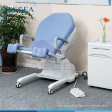AG-S107 Gynecology electrical control hospital female treatment exam room chairs